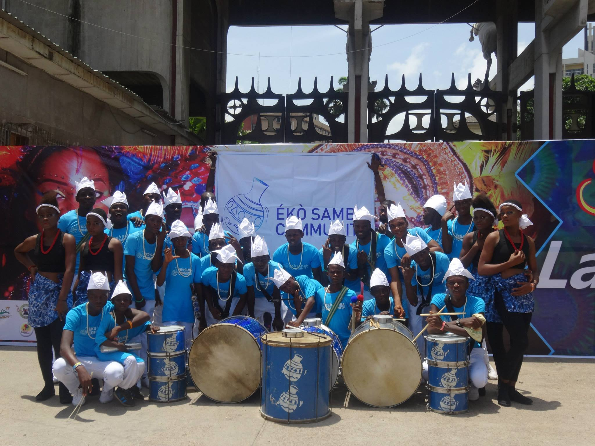 Our drummers and dancers brought true Brazilian flare and spirit to the event!
